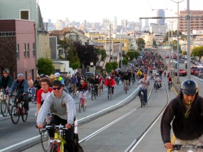 Many group bike rides target particular demographics.