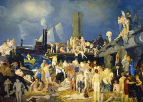 River Front (1915) George Bellows